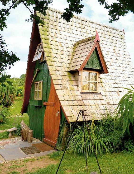 Het piepkleine huisje is vernoemd naar piraat Jack Sparrow.