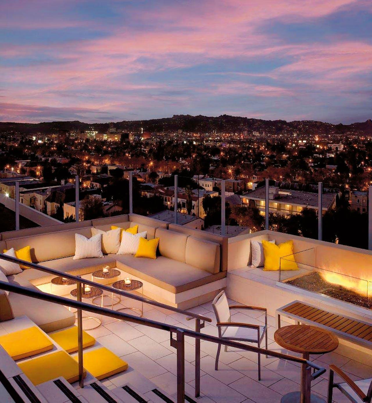 Het Wilshire-hotel in Los Angeles.
