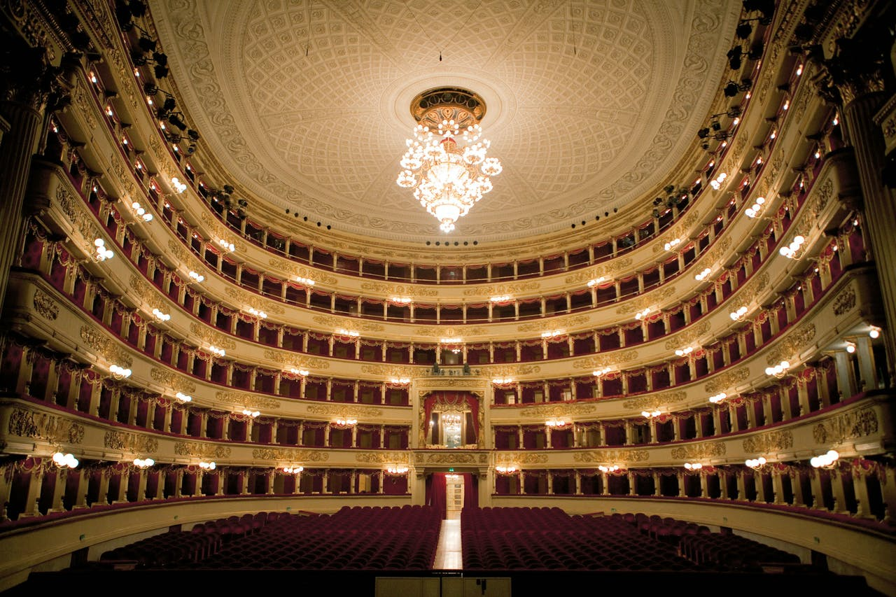 Het Teatro Alla Scala in Milaan