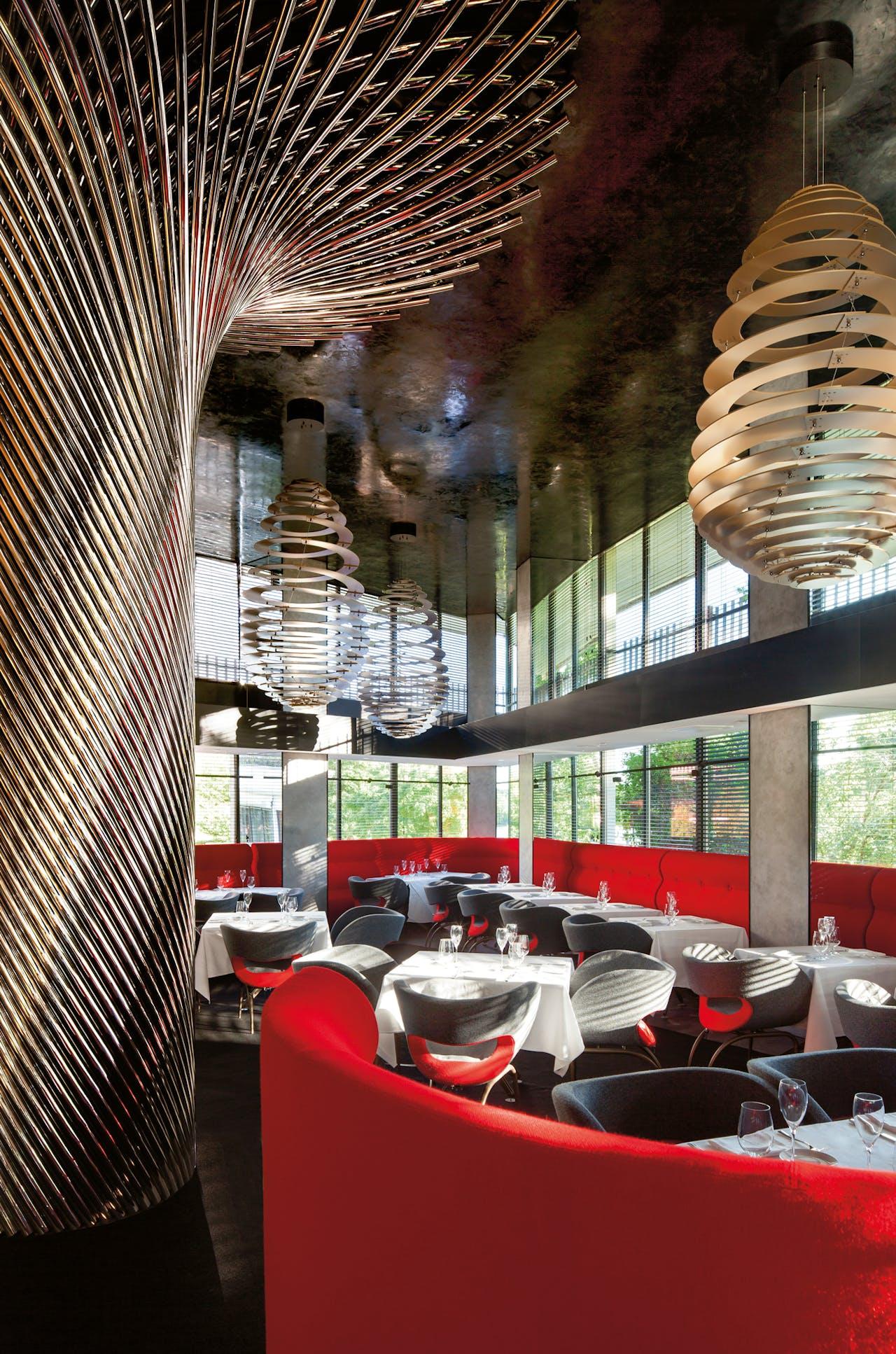Restaurant Kingbird in The Watergate Hotel.