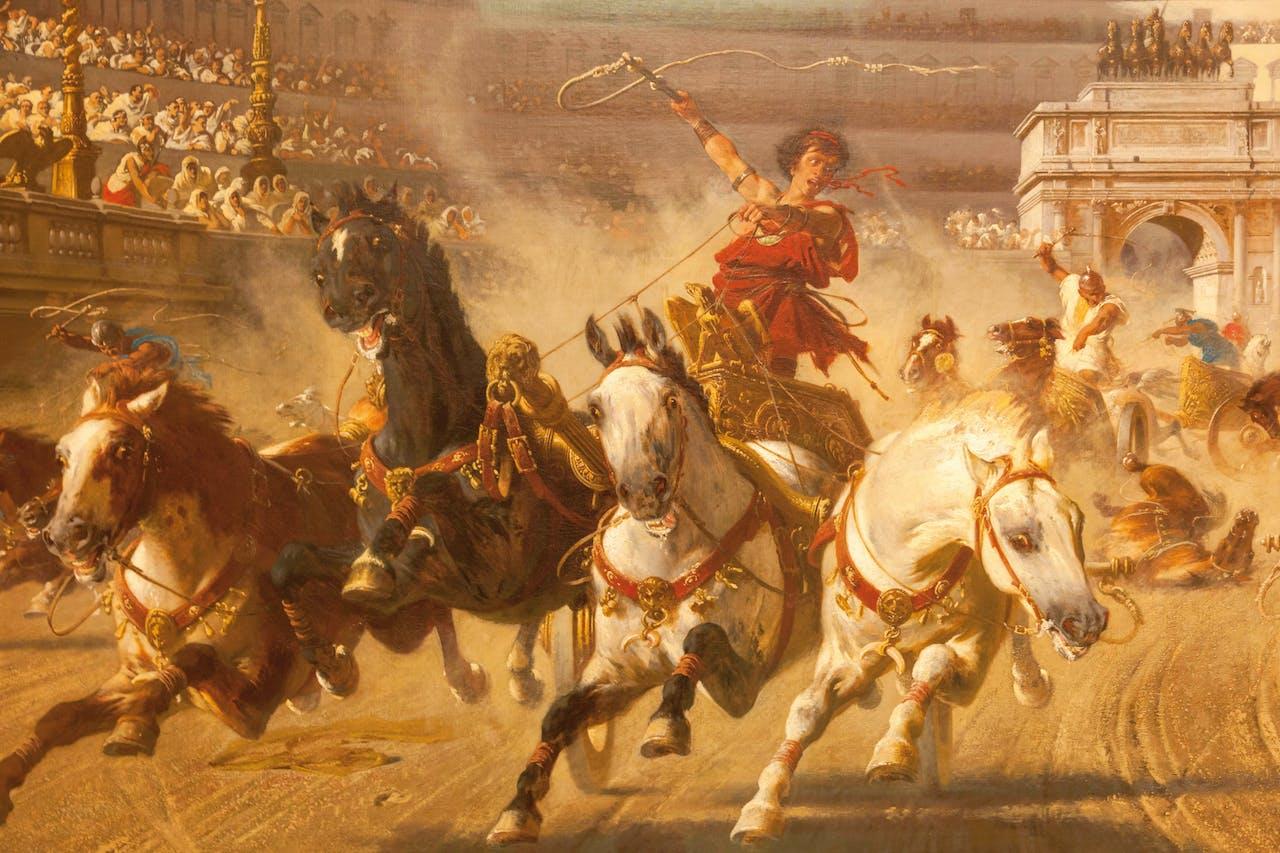 Romeinse rijk orgie