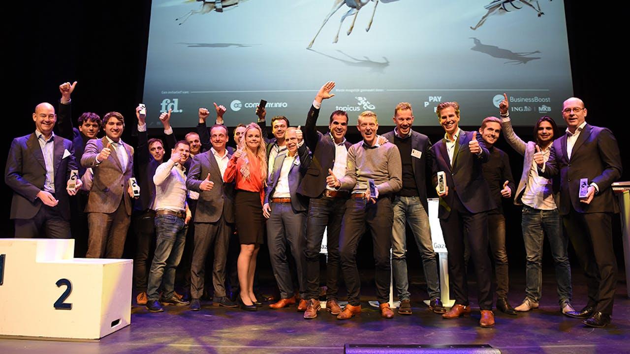 Alle winnaars van de gouden, zilveren en bronzen Gazellen in Utrecht, Gelderland en Overijssel.