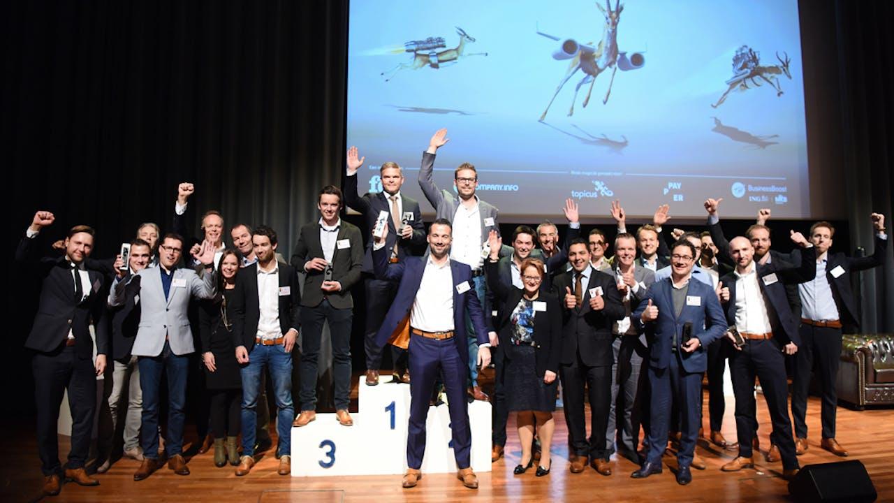Alle winnaars van de gouden, zilveren en bronzen FD Gazellen in Zuid-Nederland.