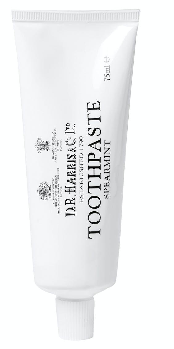 Dr. Harris two-pack Spearmint Toothpaste, €19, mrporter.com
