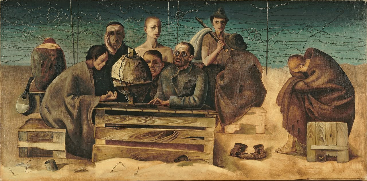 Felix Nussbaum, 'St. Cyprien', 1942.