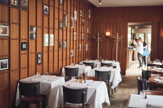 Bar Giornale, een Italiaans restaurant zonder opsmuk.