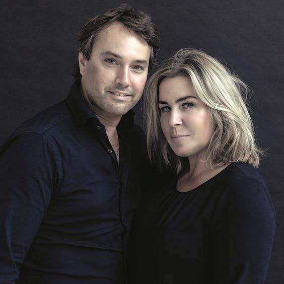 Jeroen Stock en Leonie Hendrikse