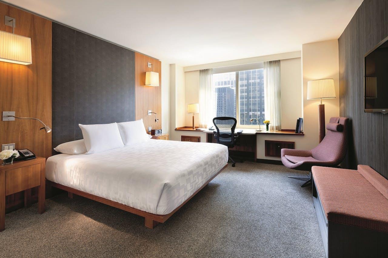 Le Parker Meridien Hotel in New York.