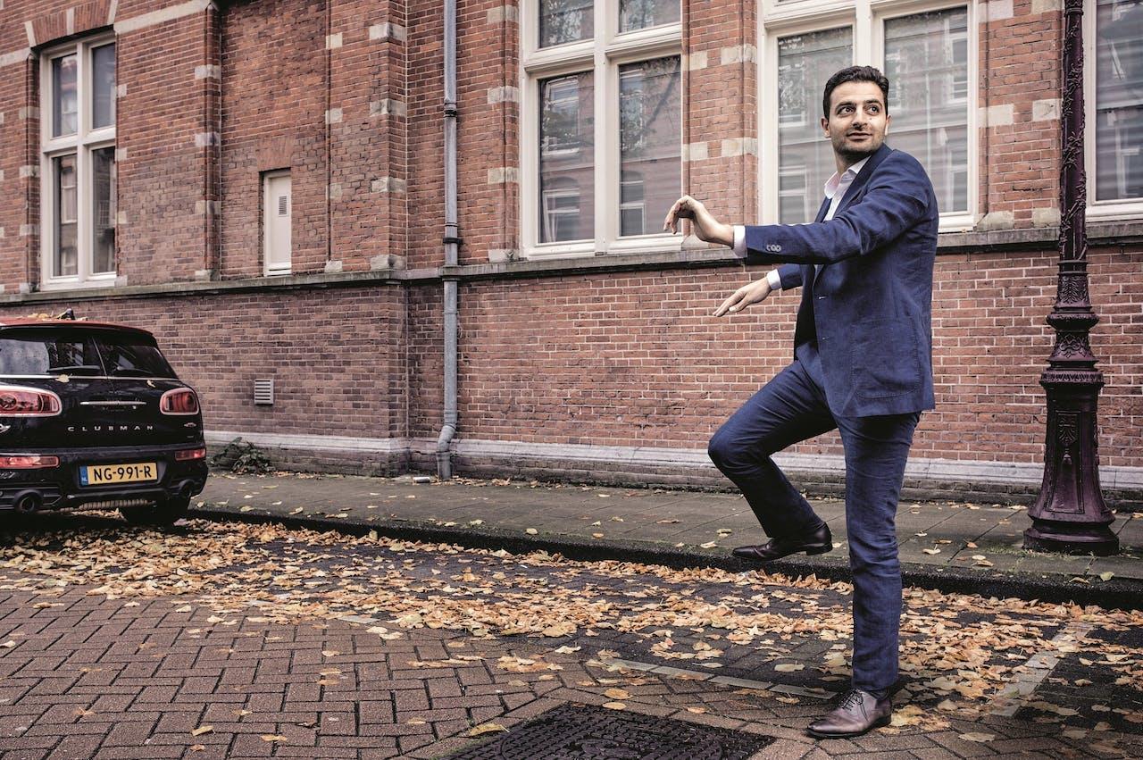 Homam Karimi: 'Op netwerkborrels moet ik uitleggen dat ik geen bomenknuffelaar ben.'