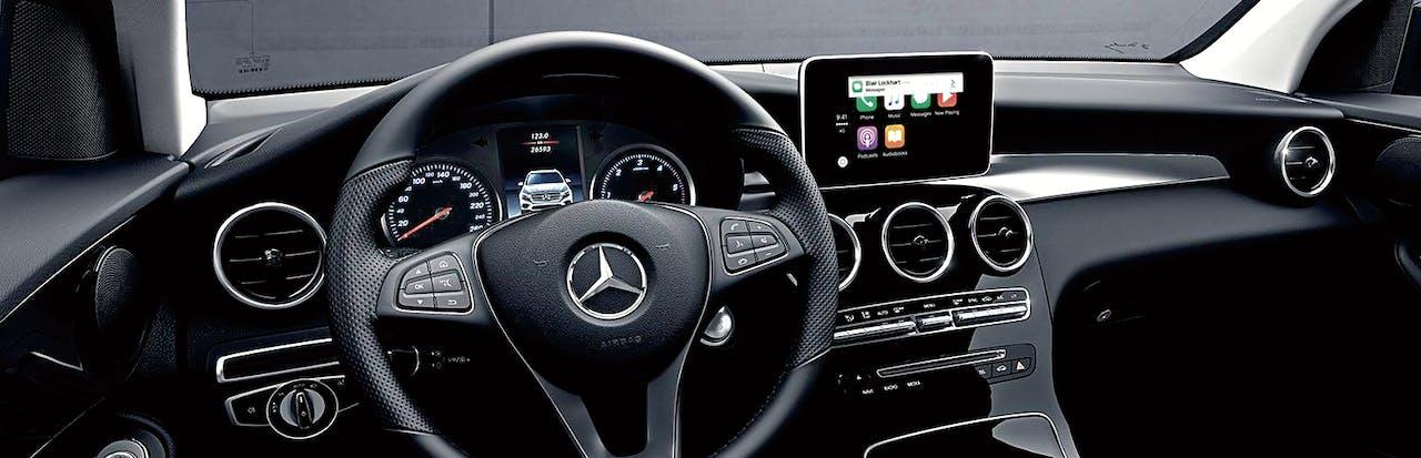 Mercedes-Benz is een van de automerken met een Carplay.