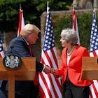 Trump matigt toon tegen May na eerdere felle kritiek