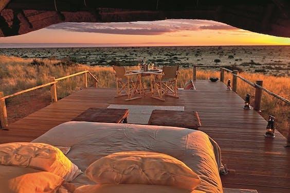 Sleep-out deck