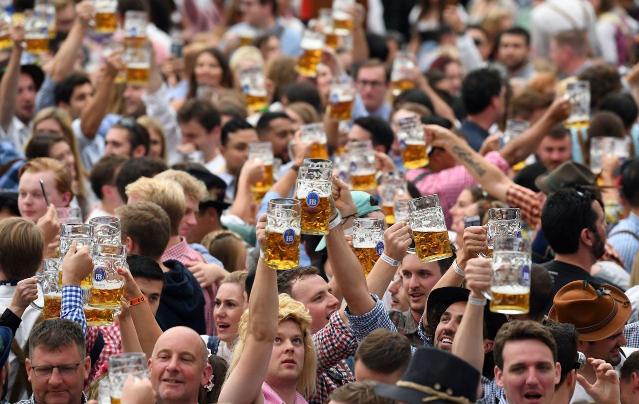 Het Oktoberfest in München. Gaat dit jaar niet door.