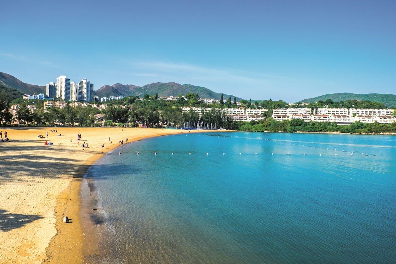 Strand van Hongkong.