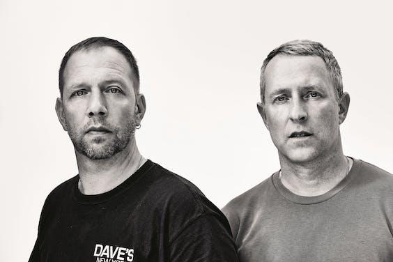 Jop van Bennekom (links) en Gert Jonkers
