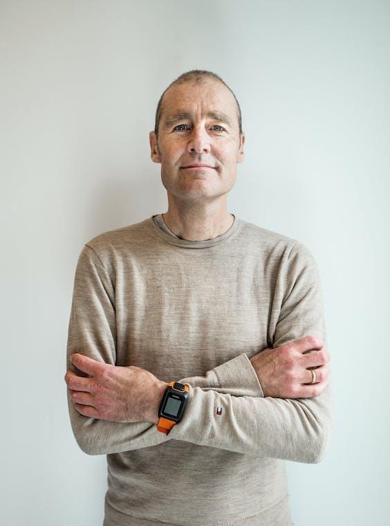 Pieter van der Does, oprichter en ceo van betaalbedrijf Adyen.