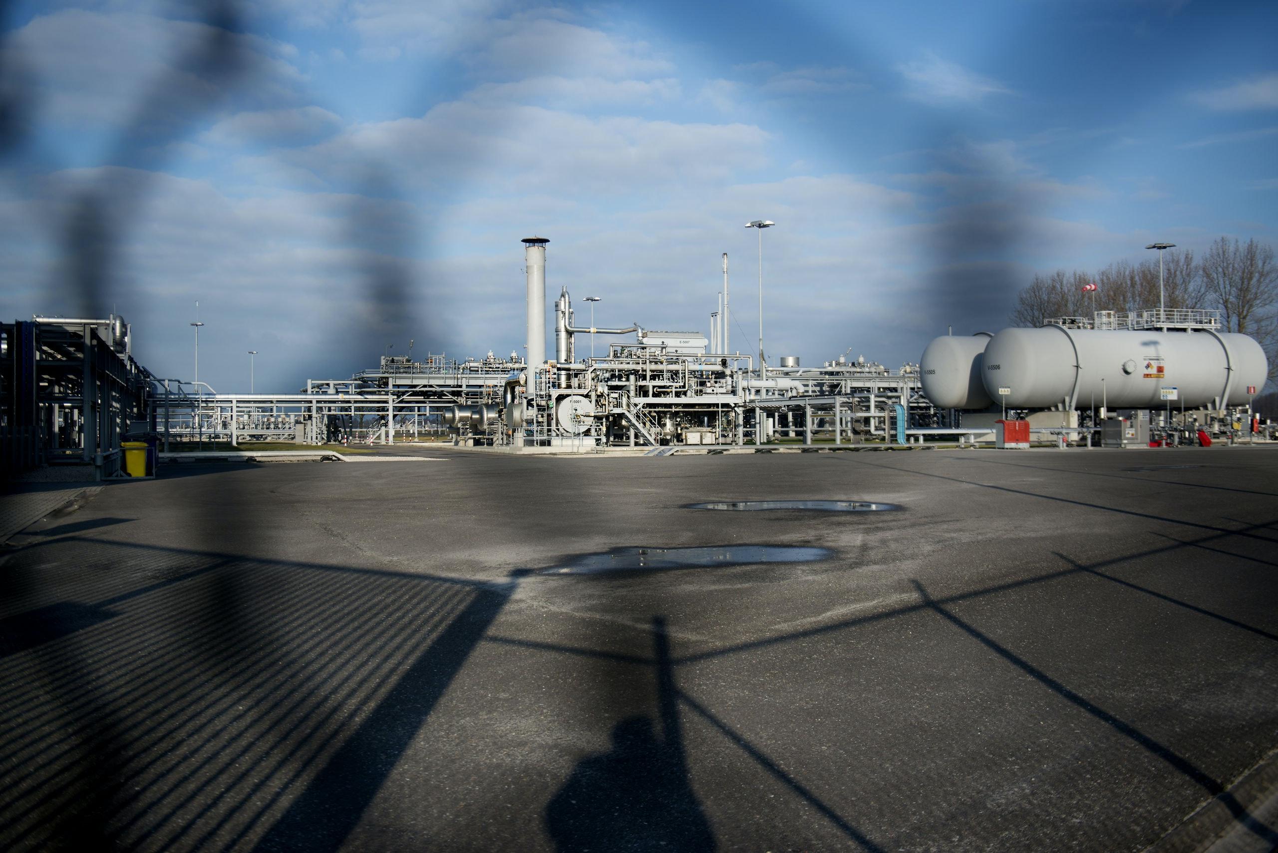 Nederland, Kolham (gem Slochteren), 20150122 De Nederlandse Aardolie Maatschappij (half Shell half ExxonMobil) boort in het Groningen-gasveld. Met de laatste paar jaar een groeiend aantal klachten mbt aardbevingen. Foto: Kick Smeets / hollandse hoogte