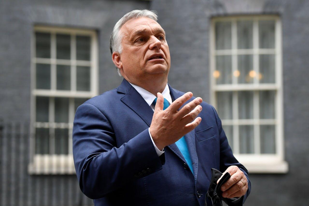 De Hongaarse premier Viktor Orbán, een potentieel doelwit van de rechtsstaatverordening.