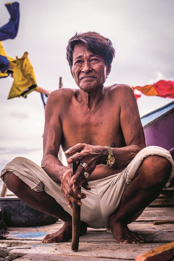 Bajau zijn een Austronesisch volk. Over hun precieze herkomst is nog wetenschappelijk debat.