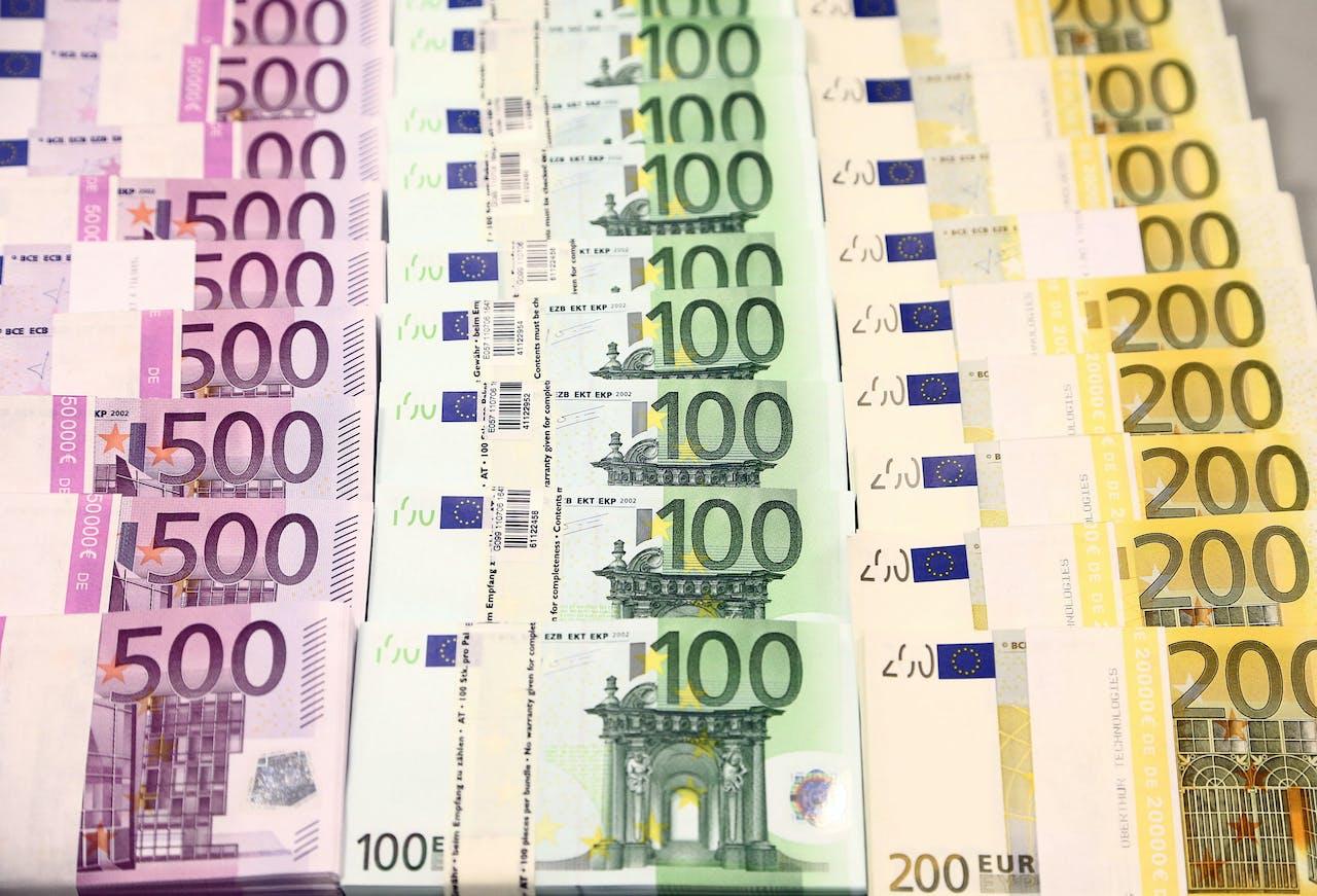 Euro's, heel veel euro's.