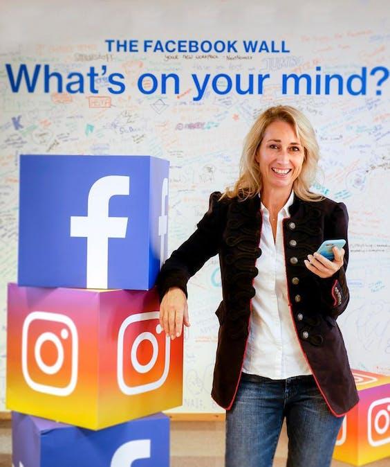Dorianne Richelle, Group Director Facebook Benelux