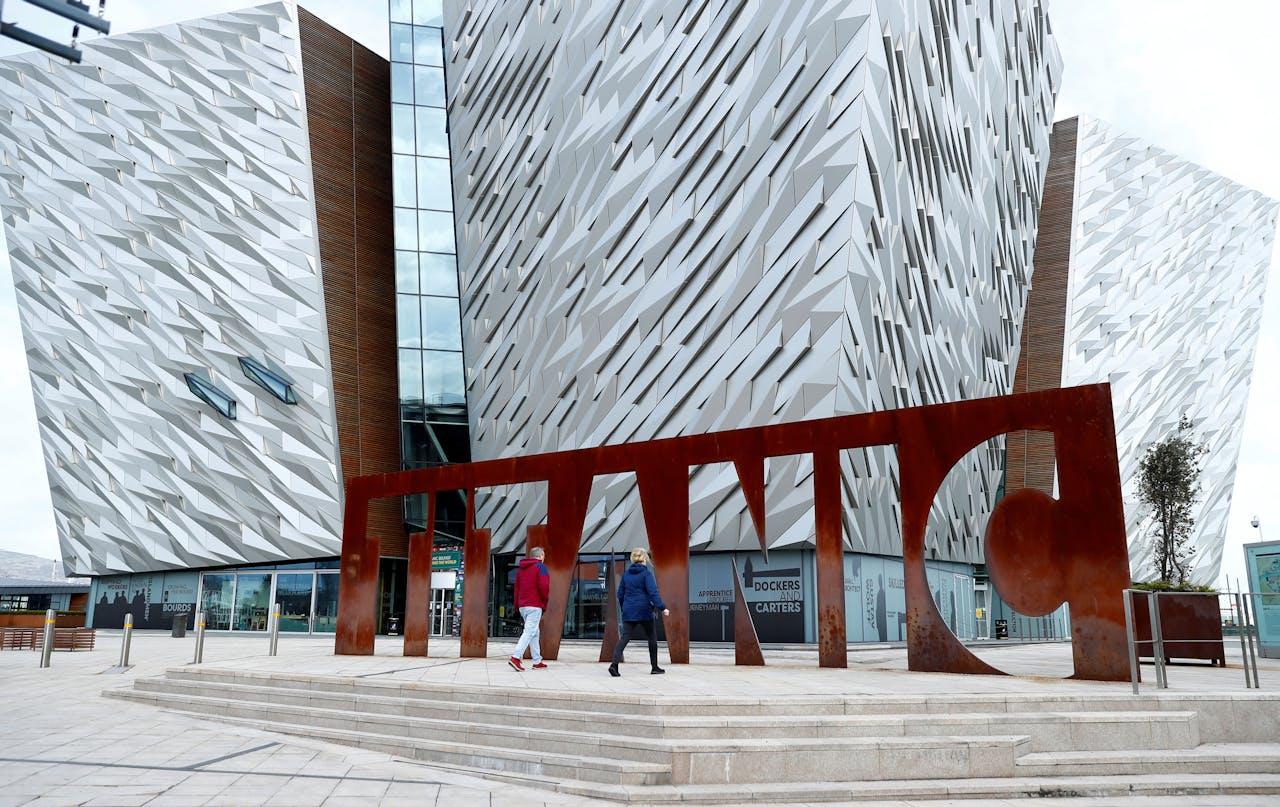 Het Titanic-museum in Belfast.