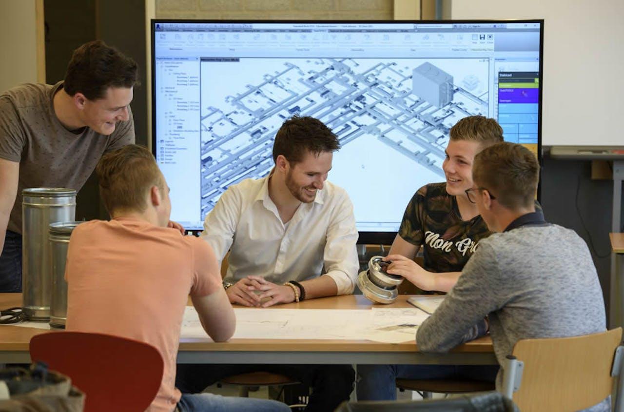 Studenten van de Tech Campus, ROC Midden Nederland