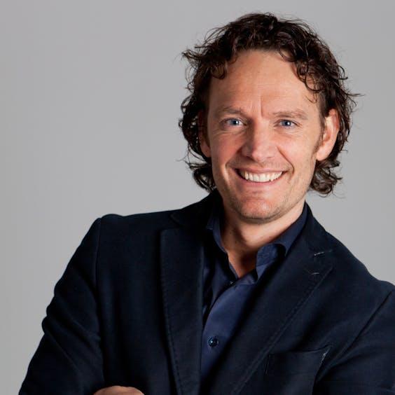 Ralph van Dam, head of Digital Change bij Centraal Beheer Bedrijven