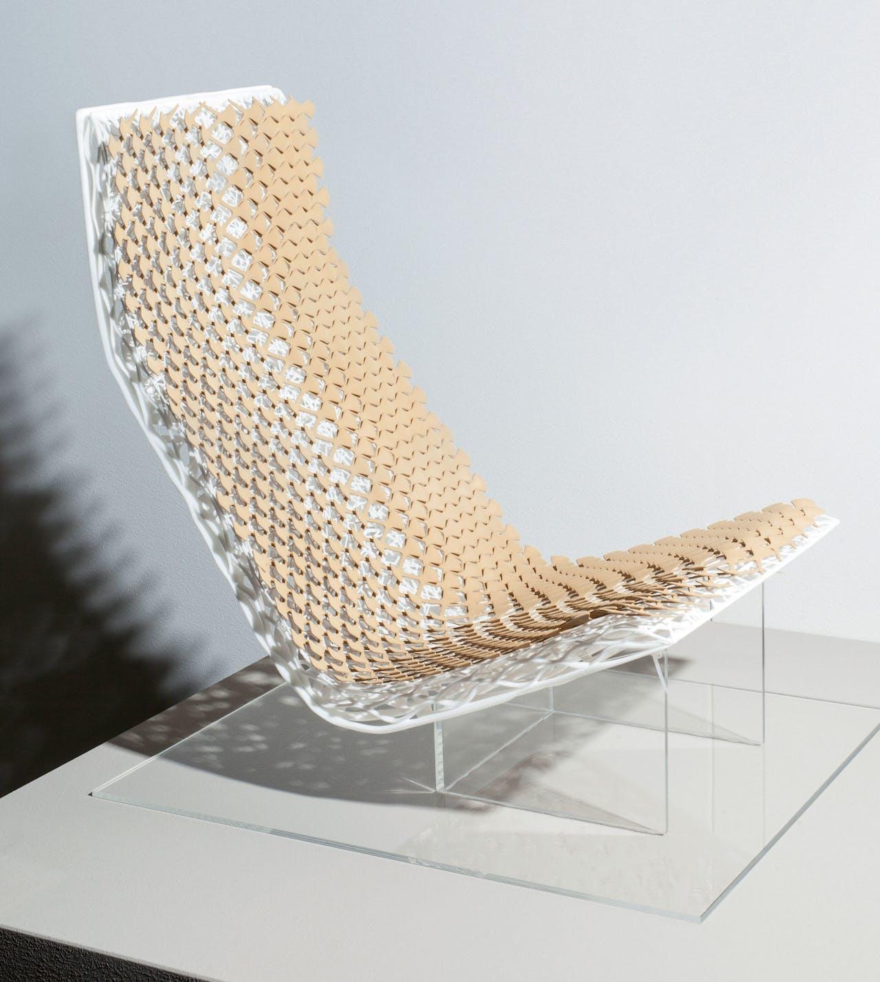 De stoel die Van Daal ontwierp voor Volvo.