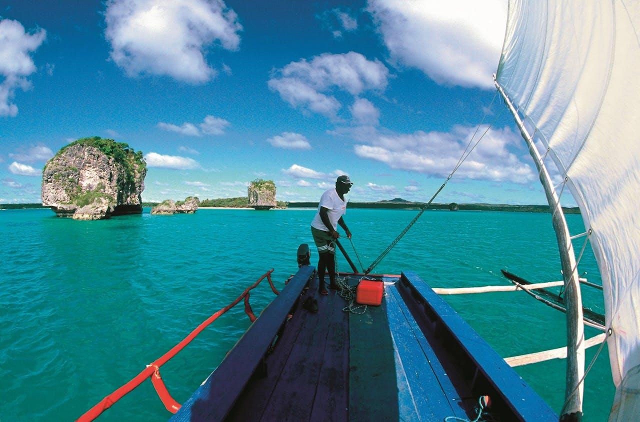 Île des Pins is het meest zuidelijke eiland van de archipel Nieuw-Caledonië, ten oosten van Australië.