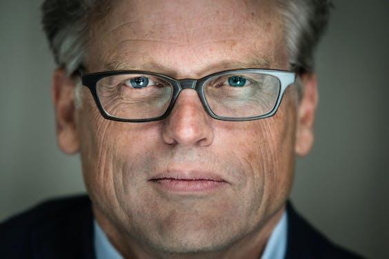 Jaap Winter, voorzitter van het College van Bestuur van de Vrije Universiteit Amsterdam