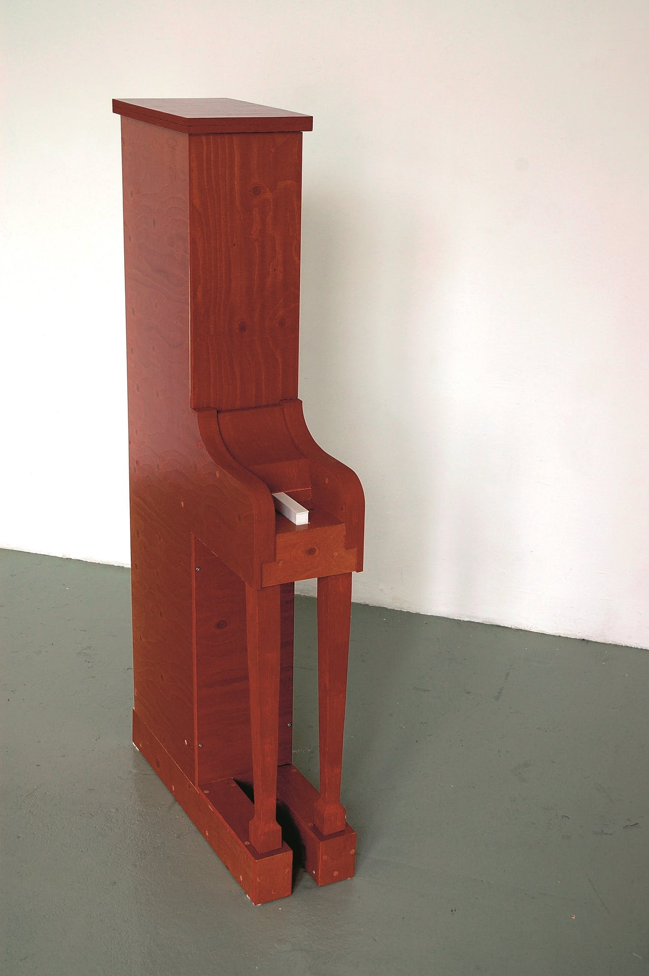 Piano met één toets, 2006, Jaap Kroneman.