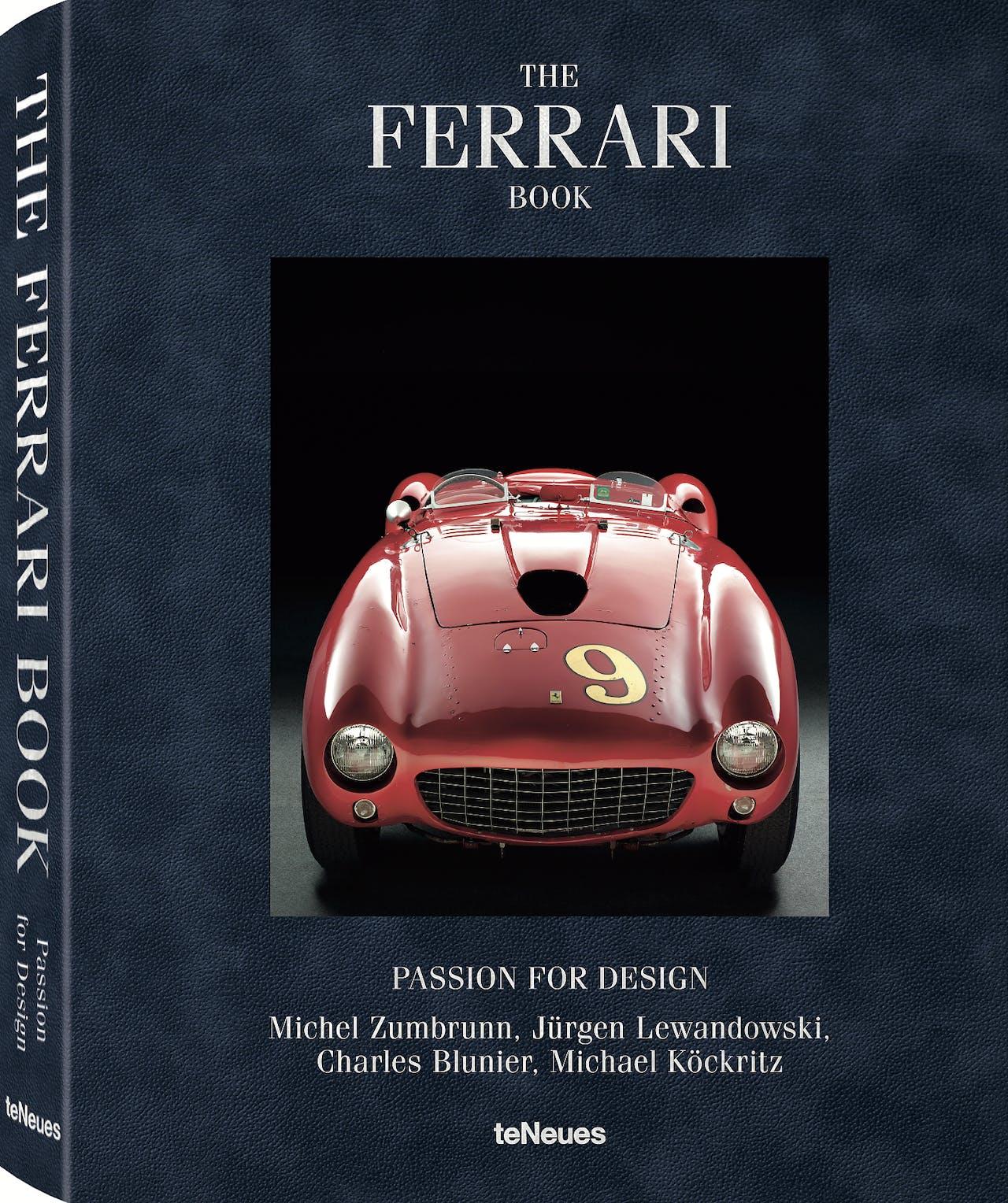 The Ferrari Book, Passion for Design, uitgeverij teNeues, €128