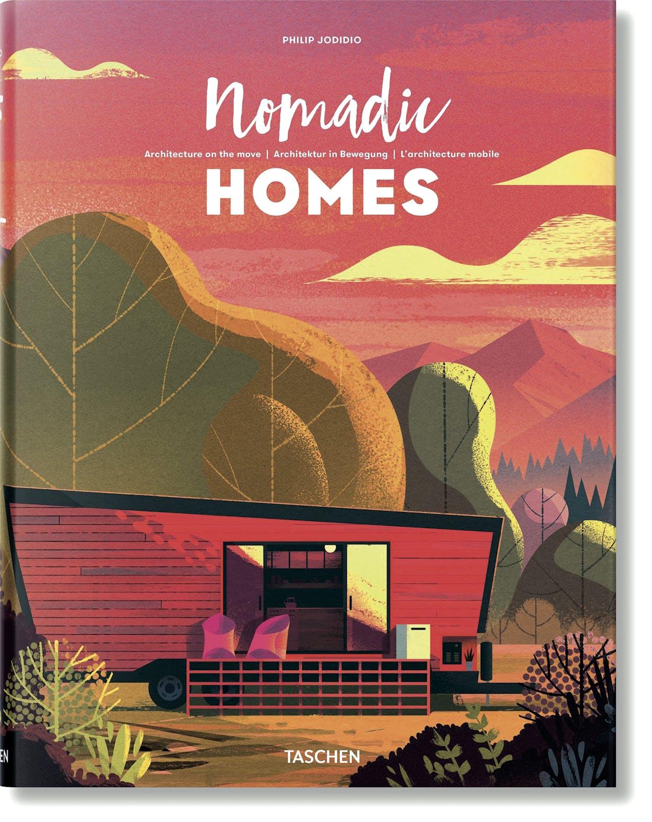 Nomadic Homes, uitgeverij Taschen, €50