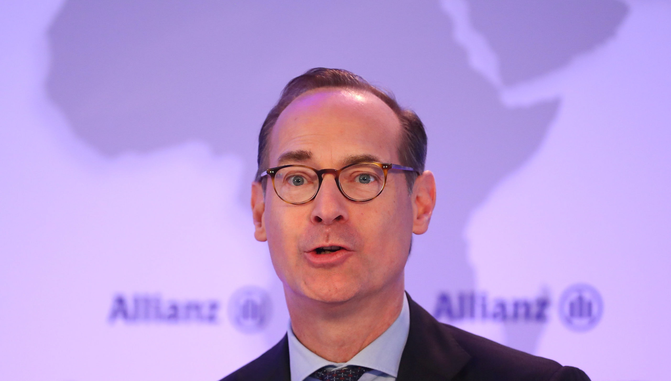 Oliver Baete, Chief Executive Officer of Europe's biggest insurer Allianz SE attends the company's annual news conference in Munich, Germany, February 15, 2019.   REUTERS/Michael Dalder