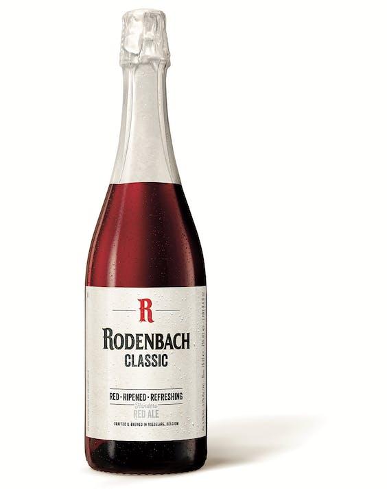 Rodenbach Classic,prijs €1 à €1,30.