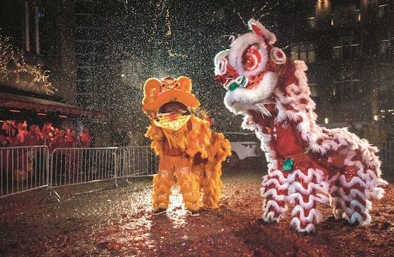 Met Chinees Nieuwjaar organiseert Won Yip een vuurwerkshow op de Dam