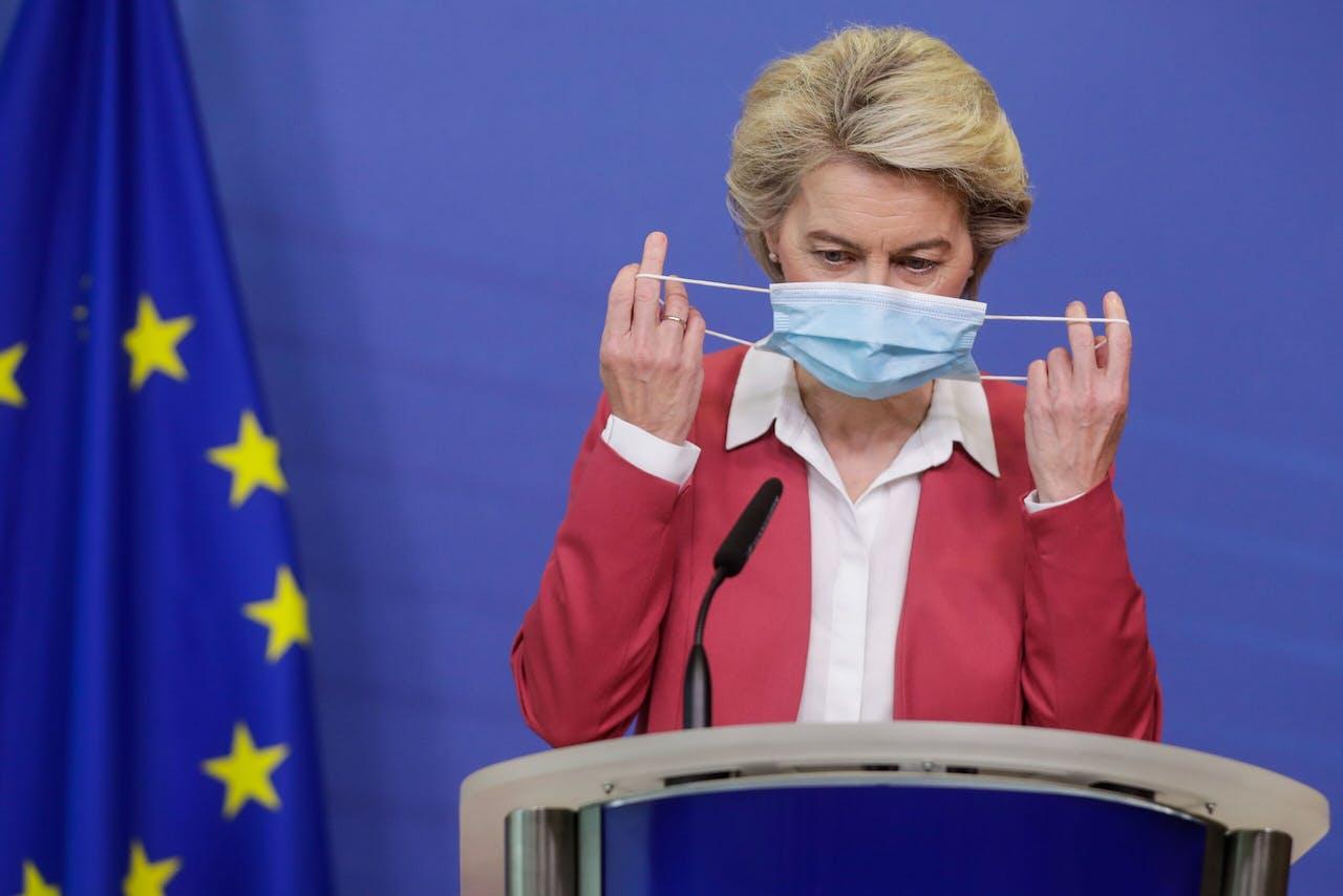 Il presidente della Commissione europea Ursula von der Leyen.